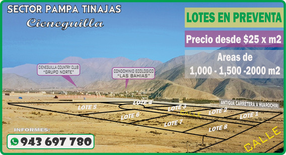 Vendo Lote De Terreno Para Casa De Campo Ocasión