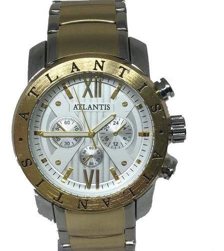 Relógio Masculino Atlantis Original A3310 BvLG+frete+caixa