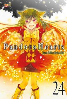 Pandora Hearts 24! Mangá Panini! Novo E Lacrado!