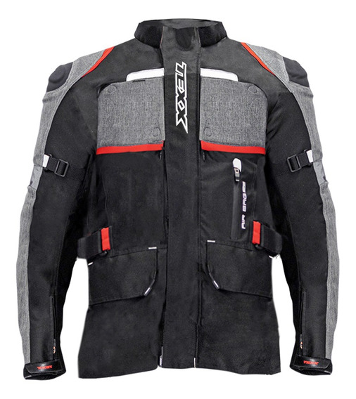 Jaqueta Texx Armor Masculina Airbag Edition Vermelha Xl