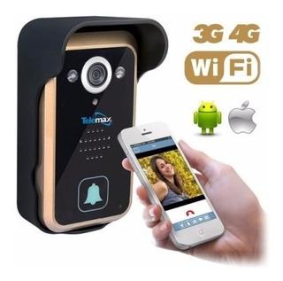 Tvp-wf Videoportero Wifi 720p P2p Conexion Smartphone