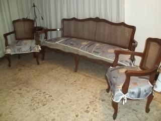 Lote De Muebles Baratos Usados-sala,mesa De Centro- Ofrezca