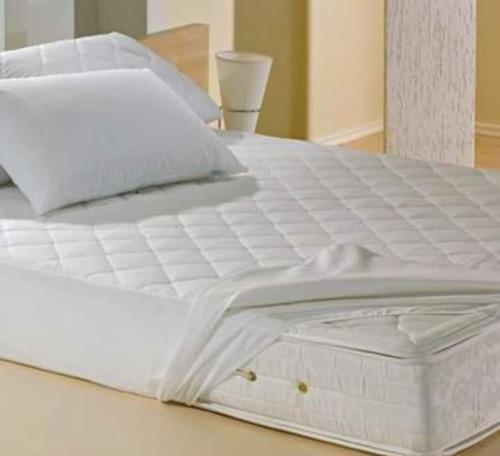 Protetor De Colchão King Branco Teka- Comfort Dry ( 198x203)