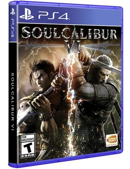 Soulcalibur 6 Vi Ps4 Disco Fisico Novo Lacrado Português Br
