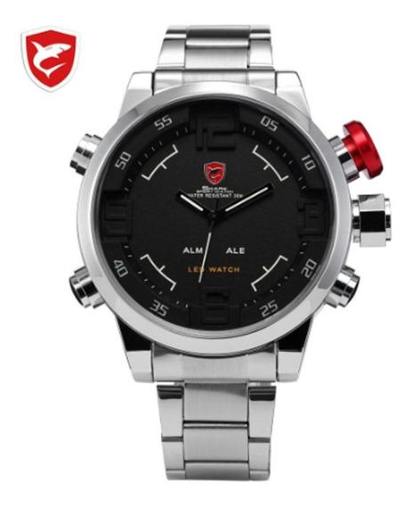 Relógio Shark Militar Esportivo Sh103, 100% Original