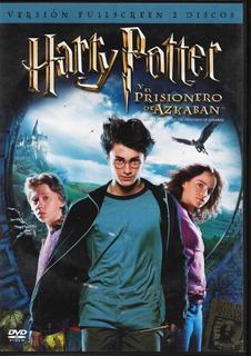 Harry Potter Y El Prisionero De Azkaban - 2 Dvd´s