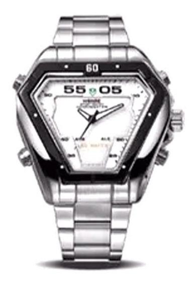 Relógio De Pulso Masculino Weide Wh1102 + Frete Grátis