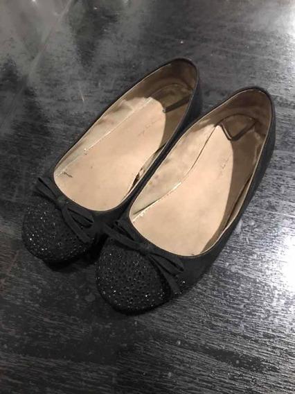 Zapatos Chatitas Zara Nena. T.32 Negras