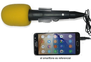 Micrófonos Para Celulares Con Cable 3 Metros