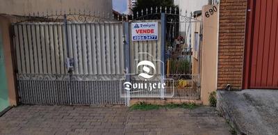 Terreno À Venda, 250 M² Por R$ 532.000 - Santa Maria - Santo André/sp - Te0740