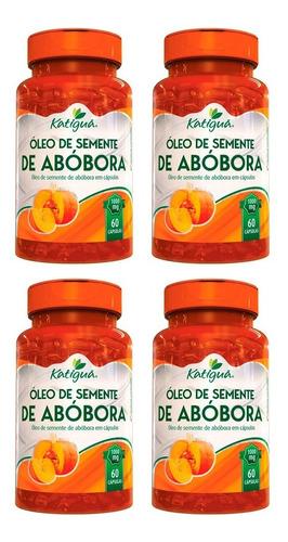Imagem 1 de 6 de Óleo De Semente De Abóbora - 4x 60 Cápsulas - Katigua
