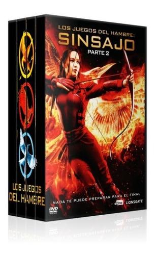 Hunger Games Boxset Dvd