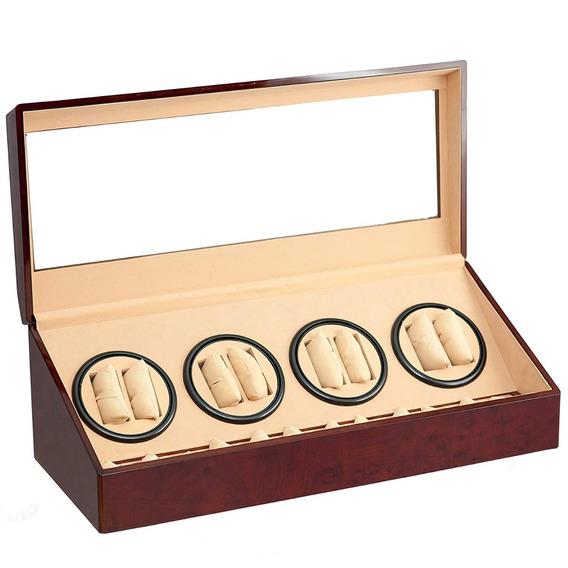 Caja / Alahajero Para Almacenar 8 Reloj Automaticos