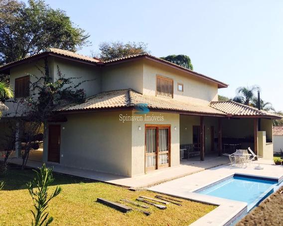 Casa Em Condomínio Na Represa - Piracaia - Sp -estuda Imóveis Até 50% Do Valor E Automóveis. - Co00226 - 2083367
