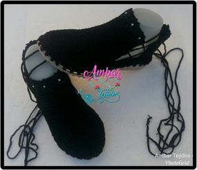 Zapatos, Sandalia, Tejidos Para Dama