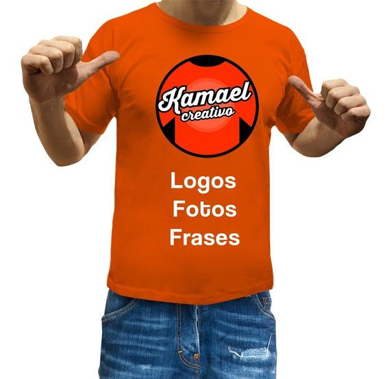 Remeras Personalizadas Estampadas Logo Publicidad Frase Foto
