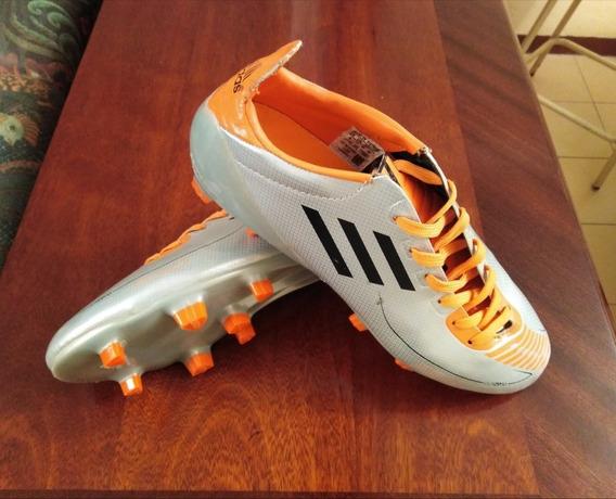 Zapatos adidas F50 Adizero Trx Syn U44291 Gris Y Naranja