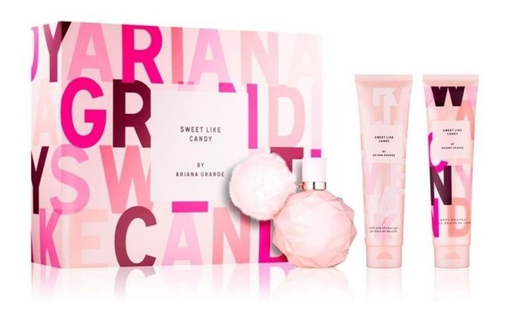 Perfume Ariana Grande Sweet Like Candy Kit (3peças)