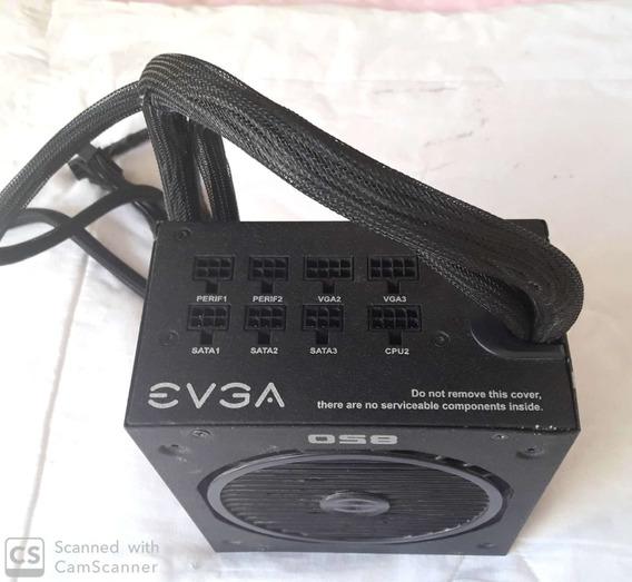 Fonte 850w Evga 850bq 80 Plus Com Defeito