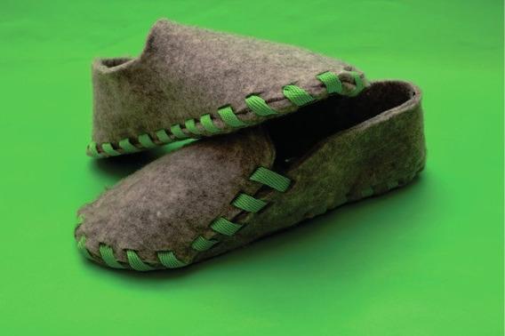 Empatas Slippers - Pantuflas Lazo Verde - 2do Cordón Gratis!