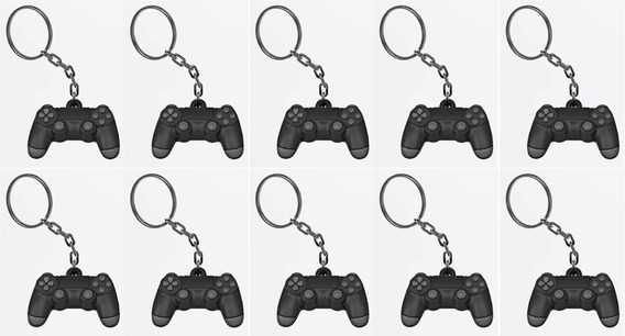 10 Chaveiros Controle Playstation Ps4 Ps3 Sony Enfeite Gamer