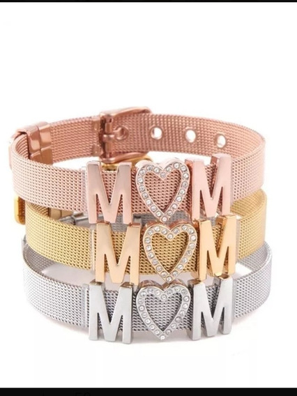 Brazalete Mom Regalo Para Día De Las Madres Economico