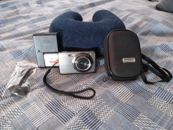 Câmera Sony Dsc-w300 13.6mp Full Hd