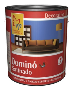 Pintura Domino Satinado Margarita 1 Galón Vp