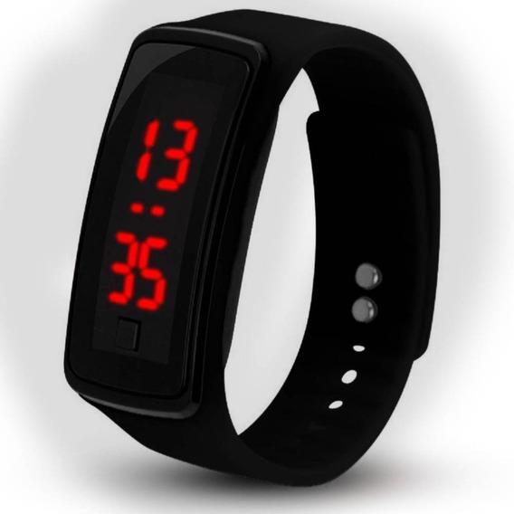 Relógio Led De Pulso Digital Masculino Feminino Cores Barato