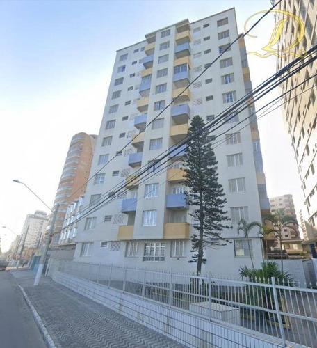 Apartamento Com 1 Dormitório, Andar Alto, Vista Mar À Venda Na Ocian!! - Ap3795