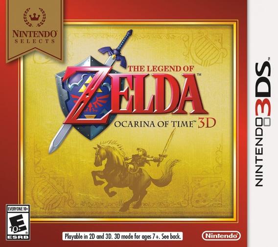 Zelda Ocarina Of Time Nintendo 3ds Novo Envio Imediato