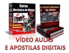 Curso 24 Dvds Mecânica De Motos E Injeção Eletrônica