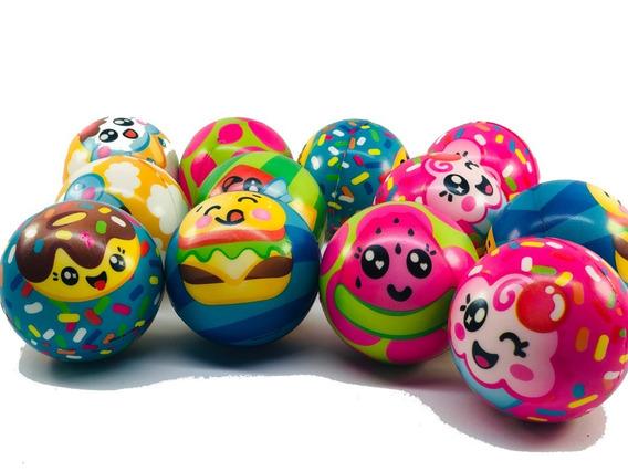12 Pelotas Mesh Ball Cupcakes Suave Juego Fiesta Piñata
