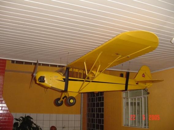 Aeromodelo Piper J3 1/3 De Escala