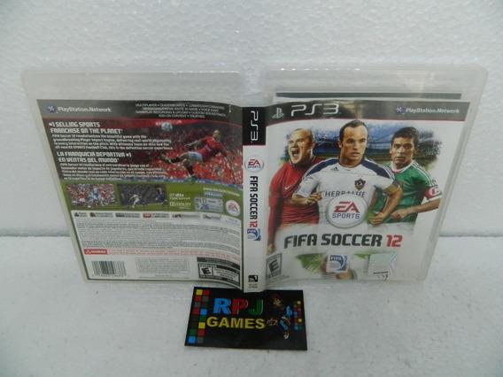 Fifa Soccer 12 Original Midia Fisica Completa Ps3 - Loja Rj