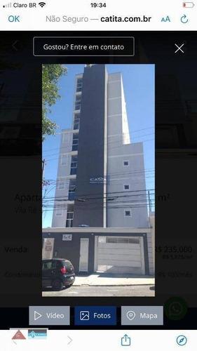 Studio Com 1 Dormitório À Venda, 40 M² Por R$ 230.000,00 - Vila Ré - São Paulo/sp - St0058