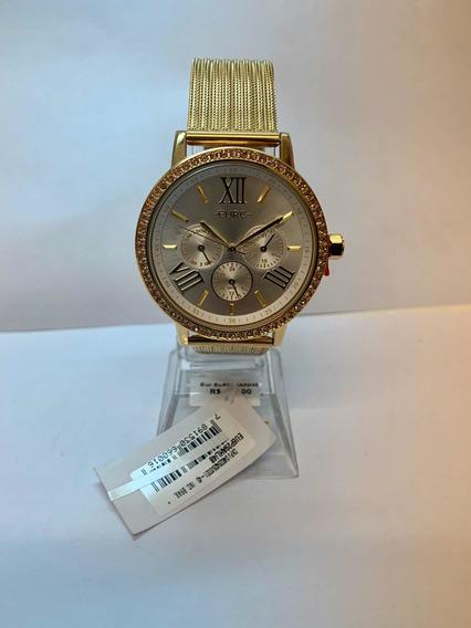 Relógio Euro Feminino Dourado Eu6p29ahl/4b