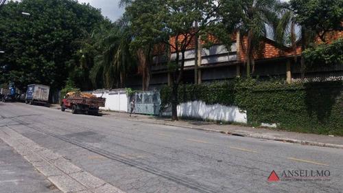 Imagem 1 de 2 de Galpão, 5869 M² - Venda Por R$ 17.610.000,00 Ou Aluguel Por R$ 76.300,00/mês - Independência - São Bernardo Do Campo/sp - Ga0311