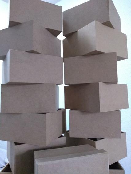Cajas De Mdf 3mm.- 10cm×7cm×9cm (46 Piezas)