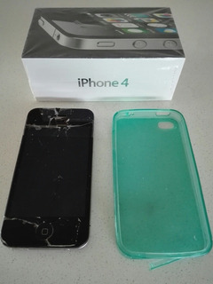 Celular iPhone 4 Pantalla Rota 01/07/2020