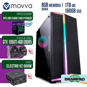 Computador Gamer Mvx5 Intel I5 9400f 2.9ghz 9ª Ger Mem 8gb S