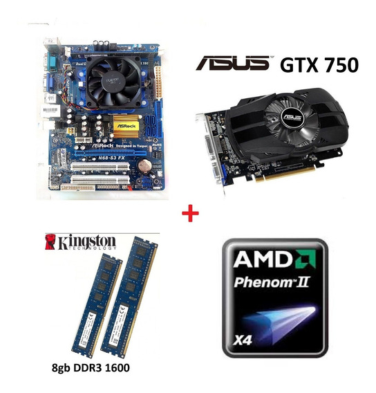 Pc Cpu Gamer Barato Amd X4 Gtx 750 8gb Ddr3 320gb 550w Usado