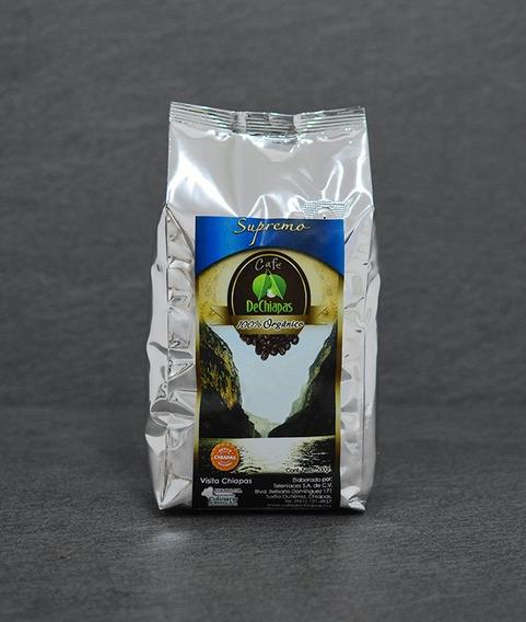 Café Organico De Chiapas Supremo 500g Molido O En Grano
