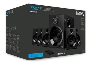 Bocinas Bluetooth Logitech Z607 5.1 Cha Usb Sd Sdhc Radio Fm