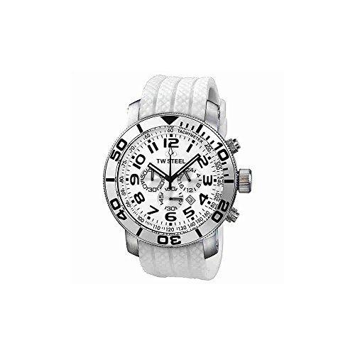 c238465ccd43 Tw95 Grandeur Diver Reloj Pulsera Caucho Blanco Hombre Tw Ac -   903.355 en  Mercado Libre