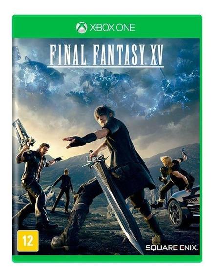 Final Fantasy Xv Xbox One Mídia Física Novo Lacrado