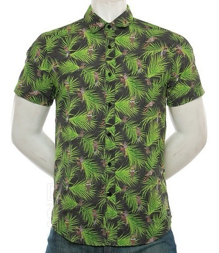 Camisa Volcom M/c Parrot