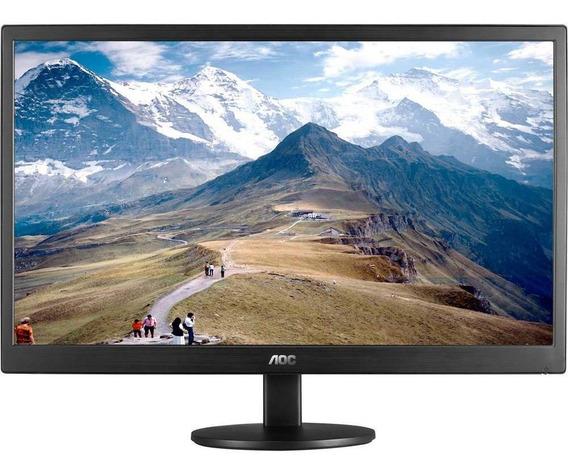 Monitor Led Tela De 18,5 Widescreen Aoc E970swnl