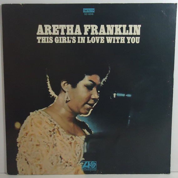 Aretha Franklin 1970 This Girls In Love With You Lp Imprtado