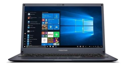 """Imagem 1 de 3 de Notebook Positivo BGH Motion I341TB cinza-oscura 14"""", Intel Core i3 7020U  4GB de RAM 1TB HDD, Intel HD Graphics 620 1366x768px Windows 10 Home"""